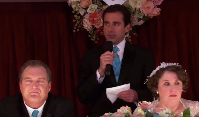 best toasts and speeches of The Office