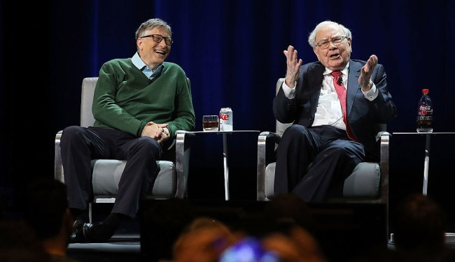 bill gates revealed his true measure of success, and he learned it from warren buffett