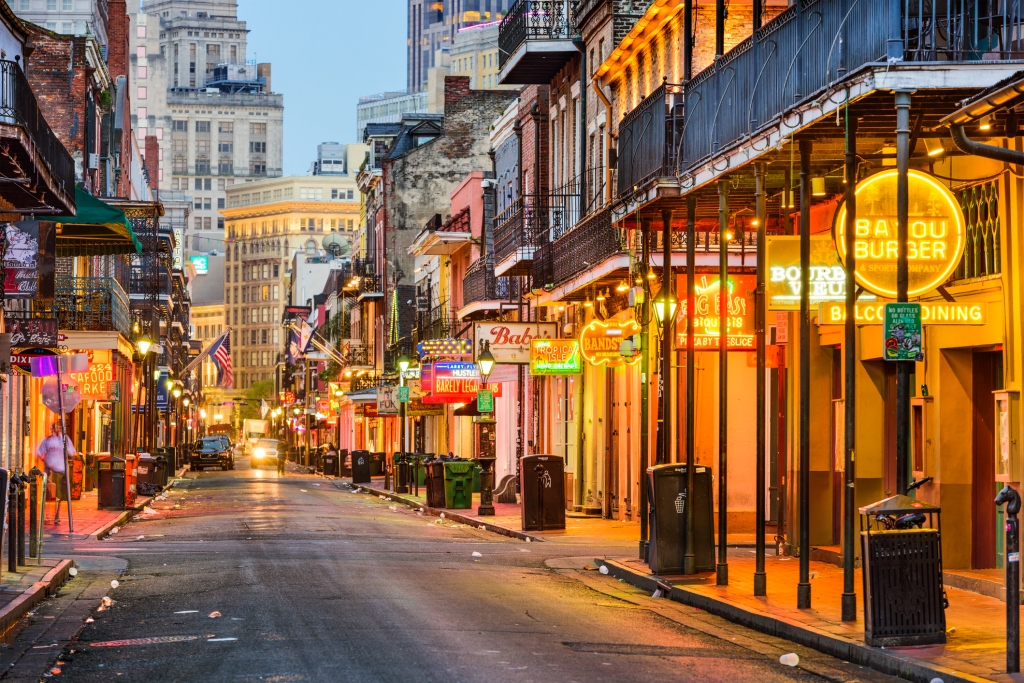 best party cities new orleans