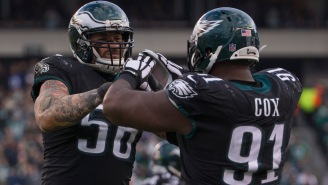 Chris Long Showed Relentless Determination To Troll Teammate Fletcher Cox's American Airlines Complaint