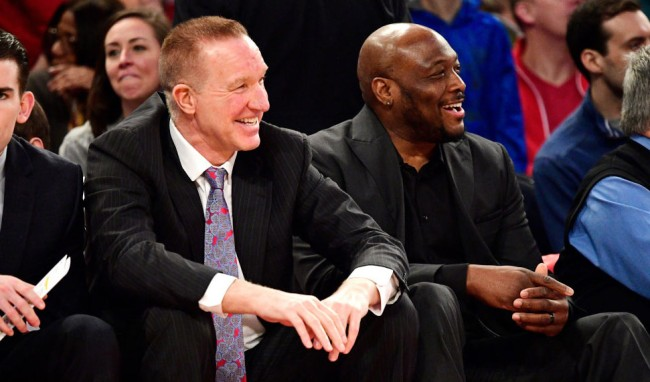 Chris Mullin And Mitch Richmond, Both In Their 50s, Can Still Shoot