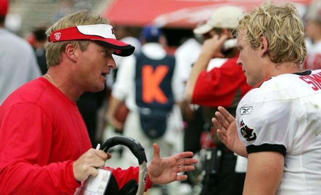 chris simms' story about coach jon gruden interrupting his honeymoon