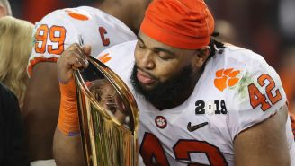 These Clemson Players Channeled Suge Knight In The Best Interview Of The National Championship