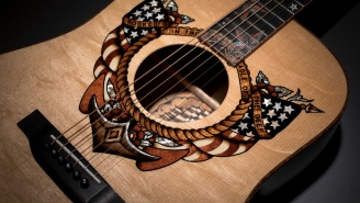 Martin Guitars Teamed Up With Sailor Jerry To Design A BADASS Series Of Custom Acoustic Guitars (Retail: $19,999)