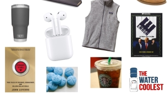Win A Patagonia Vest + Airpods In The Water Coolest Tools Of The (Corporate) Trade Giveaway