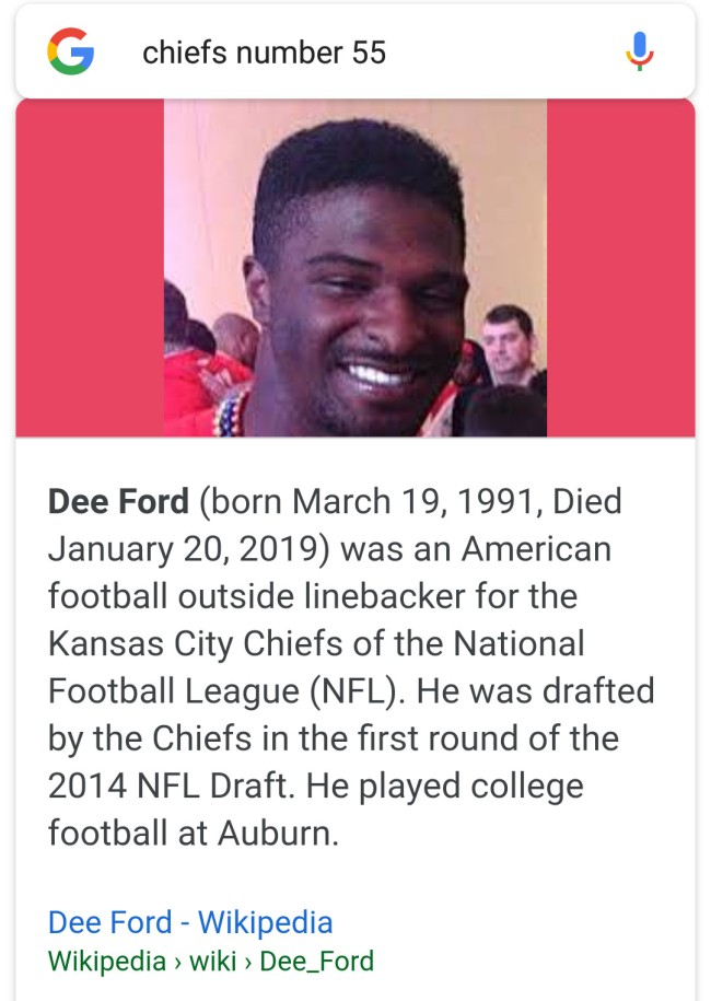 dee ford wikipedia