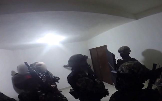El Chapo Raid Footage Culiacan Mexico 2014 Joaquin Guzman