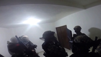 Here's Intense First-Person Footage Of The Raid Inside El Chapo's House That Led To His Take Down