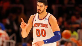 Enes Kanter Ate Seven Burgers In A Single Sitting And It Did Not End Well For Him