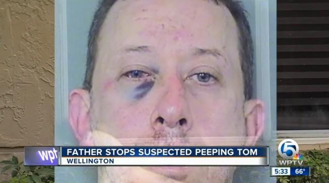 ex-nfl player tony beckham beats up man peeping daughter's bedroom