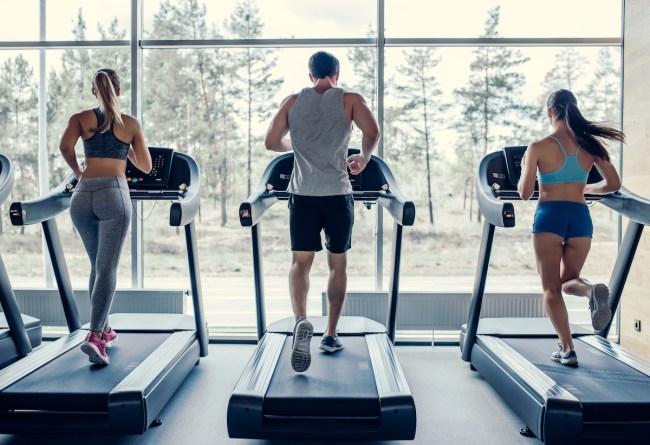 fat burning zone treadmill