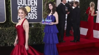 Meet Kelleth Cuthbert, Model Who Went Viral As The 'Fiji Water Girl' For Photobombing Celebs At Golden Globes