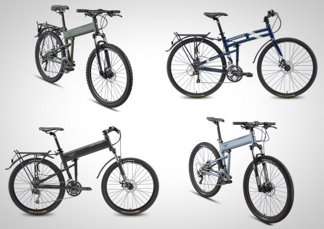 foldable mountain bikes for men