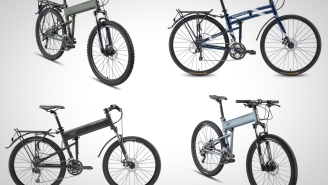 These Foldable High-Tech Mountain Bikes Were Designed For The Military But Are Perfect For You