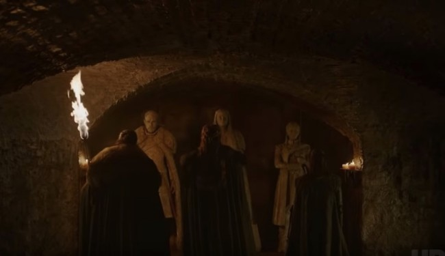 Game of Thrones Season 8 Crypts of Winterfell Teaser Trailer Explained Details Facts Trivia