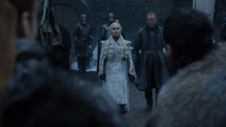 First Look At 'Game Of Thrones' Final Season Shows Sansa Meeting Daenerys And Winterfell Just Got Even Colder