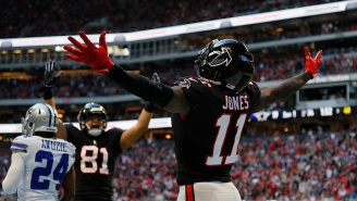 Julio Jones Doesn't Want The Falcons To Pick Up Antonio Brown After Team Became Odds-On Favorite To Trade For The Steelers' WR