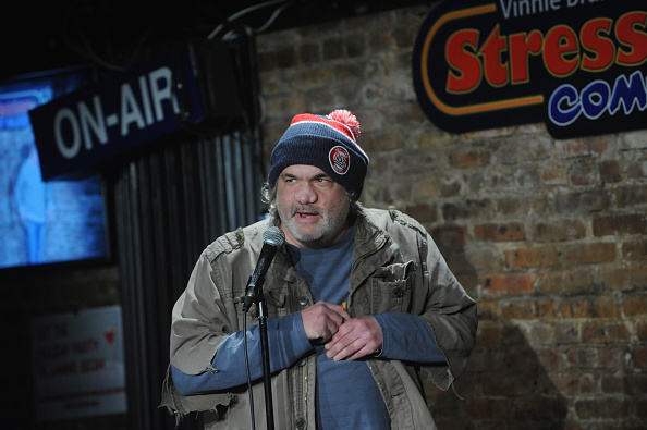 NEW BRUNSWICK, NJ - NOVEMBER 21:  Artie Lange performs  at The Stress Factory Comedy Club on November 21, 2018 in New Brunswick, New Jersey.  (Photo by Bobby Bank/Getty Images)