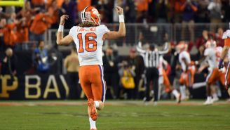 Props To Trevor Lawrence's Girlfriend For Predicting Clemson's National Championship Two Years Ago