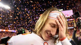 Clemson QB Trevor Lawrence And His Lucious Locks Have Brought Out The Very Best Of The Internet