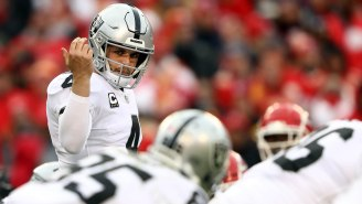 Raiders QB Derek Carr Wants To Fight 'First Take' Hosts Stephen A. Smith And Max Kellerman, Smith Responds On Twitter