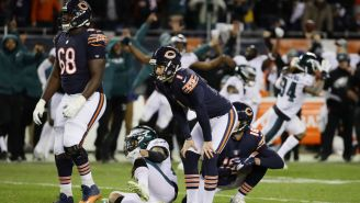 Cody Parkey's Response To The Biggest Missed Kick Of His Career Is Some Grown Man Sh*t