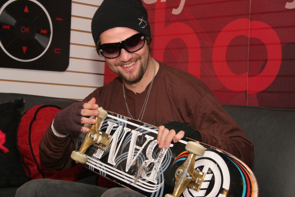 Bam Margera during LG Mobile Phones Presents Bam Margera, Tony Hawk and Mat Hoffman for Make-A-Wish at the LG Action Sports Championships - October 28, 2006 at Reunion Arena in Dallas, Texas, United States. (Photo by Peter Larsen/WireImage for Ogilvy Public Relations)