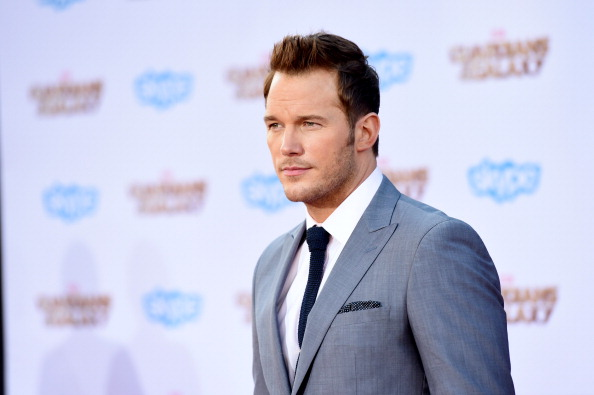 "HOLLYWOOD, CA - JULY 21: Actor Chris Pratt attends the premiere of Marvel's ""Guardians Of The Galaxy"" at the Dolby Theatre on July 21, 2014 in Hollywood, California. (Photo by Jason Merritt/Getty Images)"