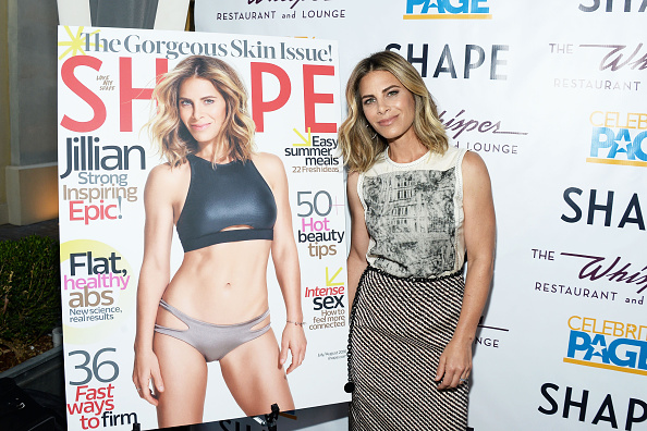 LOS ANGELES, CA - JULY 06:  Celebrity fitness trainer Jillian Michaels attends Shape Magazine celebrates Jillian Michaels' cover and 35th anniversary of Shape at The Whisper Lounge on July 6, 2016 in Los Angeles, California.  (Photo by Matt Winkelmeyer/Getty Images)