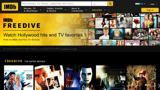 IMDb Launched A New Free Movie And TV Streaming Service Called Freedive And It Doesn't Look Bad