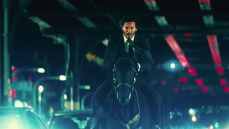 Rediscovered Footage Shows Keanu Reeves Has Been Training For That 'John Wick 3' Horse Scene Since 1985
