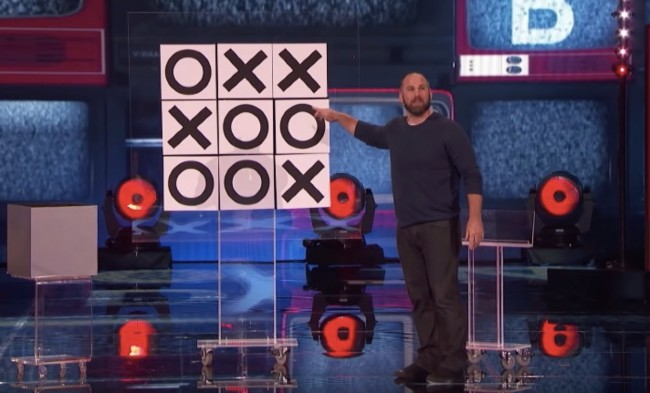 Jon Dorenbos Magic trick America's Got Talent Champions