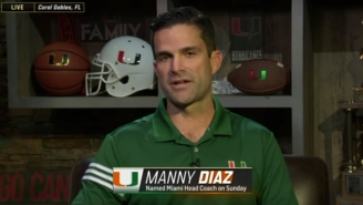 Miami's New Football Coach Somehow Blames Kevin Durant For His School's Bad Recruiting
