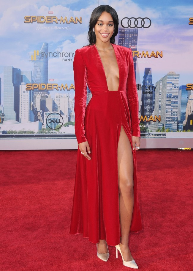 klay thompson golden globes parties with new girlfriend laura harrier