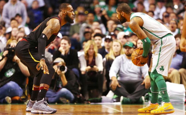 kyrie irving on the 'challenge' of playing alongside lebron james