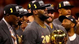 New Video Shows LeBron James Telling Cavs Teammates Warriors Were 'F*cked Up' After Game 6 In 2016 NBA Finals