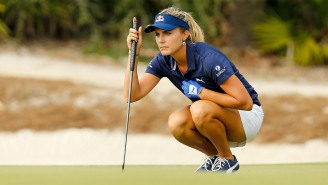 LPGA Star Lexi Thompson Had To Google Who Her Playing Partners Are This Week: Greg Maddux And John Smoltz
