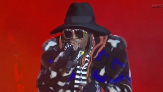 The Internet Mocks Lil Wayne's Absolutely Terrible Outfit During Halftime Show Of College Football National Championship Game