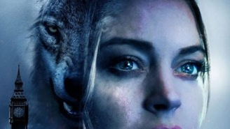 This Poster For Lindsay Lohan's Upcoming Werewolf Movie Needs To Be Put On A T-Shirt ASAP