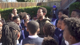 Ludacris Surprises Two H.S. Kids With Super Bowl Tickets Who Go Absolutely Nuts