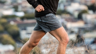 Get Fit With The Four-Way Stretch 7″ Pace Breaker Workout Short By Lululemon For Men