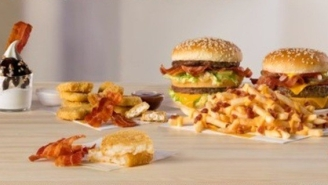 McDonald's Is Giving Away Free Bacon For One Hour, Plus Starts Serving New Cheesy Bacon Fries