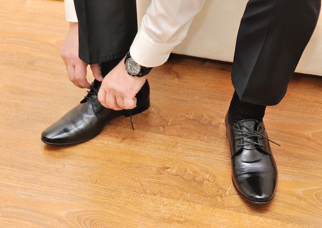 businessman clothes shoes