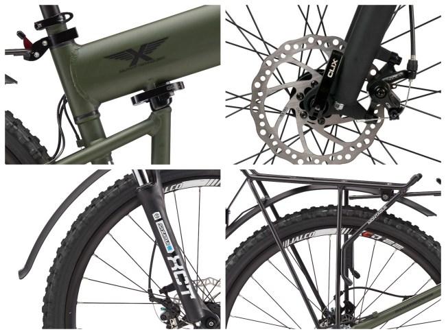 Montague Mountain Bikes Foldable
