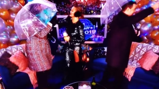 NBC's 'Trainwreck' New Year's Eve Sees Chrissy Teigen Nearly Lose An Eye By Leslie Jones Plus 'Vaginal Steaming'