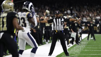 NFL Fines Rams DB For Hit On PI Play That Wasn't Called And Saints Fans Are Losing Their GD Minds