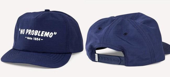 no problemo hat front back