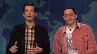 SNL: Pete Davidson Addresses His Mental Health While Obsessing Over Clint Eastwood's 'Mule'