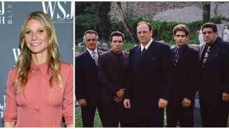 Gwyneth Paltrow's Impossibly Smug Quotes Paired With 'Sopranos' Screenshots Is Peak Internet