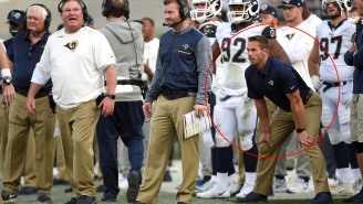 The Rams' Strength Coach Spends Each Gameday Making Sure Sean McVay Doesn't Get Run Over By Refs
